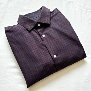 H&M Men's Small Slim Fit Collared Shirt